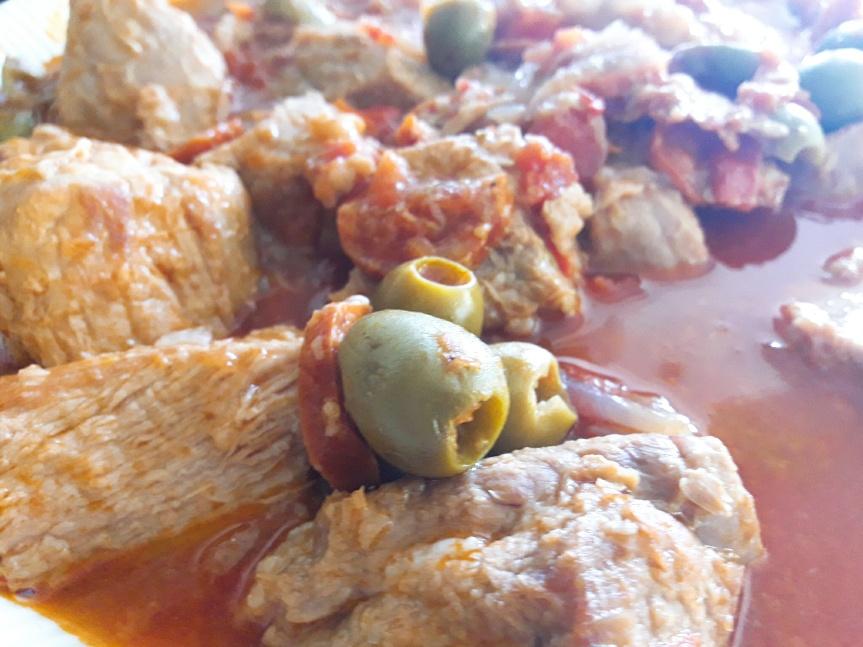 Sauté de veau à lacatalane