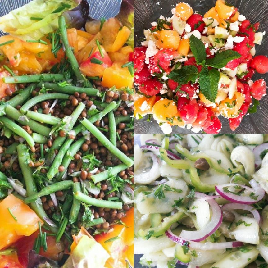Encore des salades
