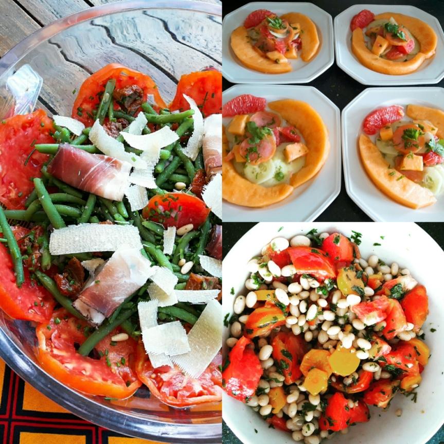 Trois nouvelles saladesd'été
