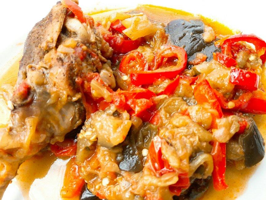 Mes recettes à base d'aubergines : le poulet auxépices
