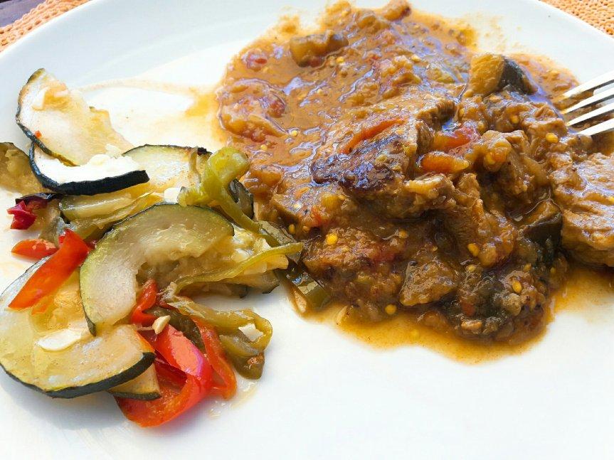 Mes recettes à base d'aubergines (2) : l'agneau à l'iranienne
